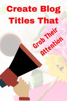 Learn how to write attention grabbing blog titles that would lure readers right into your blog. Get them curious and wanting to learn more with your enticing titles