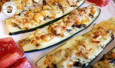 Fitness Dessert.de Zuccini Pizzen 01 770x460 Zucchini Pizzen
