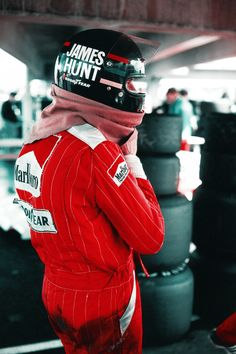 """""""James wasn't really that interested in the detail. He hated testing. It bored him to tears and we really shouldn't have used him at all. He wasn't a constant fiddler like Fittipaldi or Lauda, he just drove as hard as he could — he was good at that."""" - Alastair Caldwell, McLaren Team Manager"""