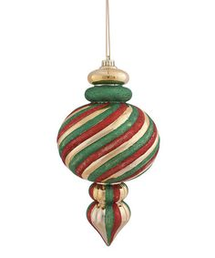 Take a look at this Jumbo Florentine Ornament by Transpac Imports on #zulily today!