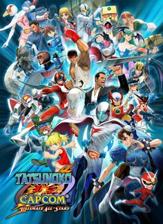 85 best nintendo images on pinterest videogames drawings and gaming tatsunoko vs capcom ultimate all stars capcom gumiabroncs Images