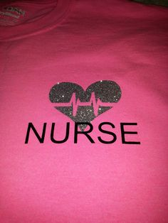 heartbeat nurse tshirt, many sizes, many colors to chose from, FREE SHIPPING! - pinned by pin4etsy.com