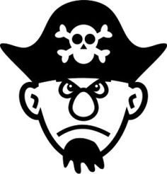 Pirate Picture to Color