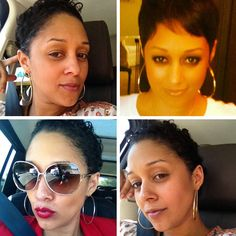 Recently actress and famous twin Tia Mowry showcased a new haircut in curly layers and in a chic pixie cut. Although, Tia looks great with short or long hair, I love this hairstyle on her best. She looks very mature and the cut brings out her fierceness, which is a familiar trait with short hair on anyone.