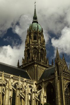 Notre Dame Cathedrale, Lower Normandy, France