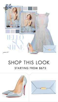 """""""Lily James #19"""" by pace21 ❤ liked on Polyvore featuring Christian Louboutin and STELLA McCARTNEY"""