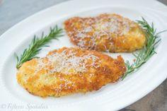 Crispy Parmesan Crusted Chicken Recipe