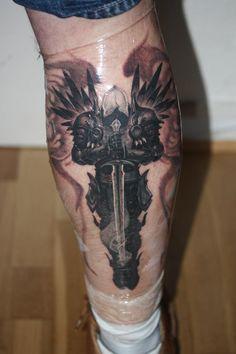 Tyrael tattoo