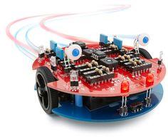 VARIOBOT tibo: analoger Roboterbausatz mit patentierter Sensorik zum Experimentieren