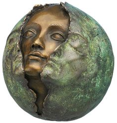 "Maria-Luise Bodirsky: Skulptur ""Metamorphose"", Bronze"
