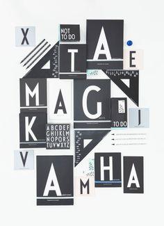 Pravítko Design Letters, trojúhelník | DesignVille