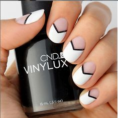 Nail Trends: What's Hot for Summer 2015: A Chic French Tip
