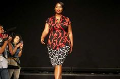 fashion show  2013 plus size | Miller tells plus-size women to embrace large prints. Dominica Lim for ...