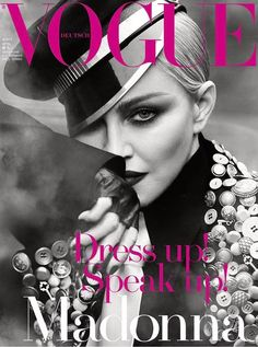 Pop Legend Madonna is the Cover Star of Vogue Germany April 2017 Issue