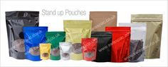 Stand Up Pouch   We are one of the leading providers of unique and innovative packaging solutions and we provide 1000 stock as well as 10,000 custom printed pouches as per the requirements.  http://www.swisspac.co.uk/stand-up-pouch/