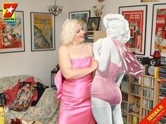 """As """"Marilyn"""" in the magazine Seiska in May 2010. (Circulation approx. 1 million)"""
