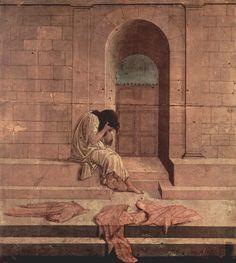 Sandro Botticelli's 'The Outcast' (circa 1495)