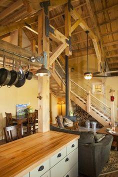 Décoration intérieur chalet montagne : 50 idées inspirantes   Pinterest