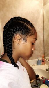 Browse and select your next natural braided hairstyle! Enjoy braids on your natural hair with no artificial hair parts and protect your natural tresses! Natural Braided Hairstyles, Natural Hair Braids, Pigtail Hairstyles, Twist Braid Hairstyles, Braided Hairstyles Tutorials, Twist Braids, Natural Hair Styles, Twists, Black Girl Braids