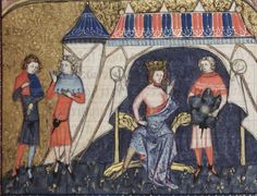 Bodleian Library MS. Bodl. 264, The Romance of Alexander in French verse, 1338-44; 185r