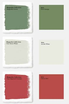 How To Get Fixer Upper Paint Colors From Home Depot - Joyful . How to Get Fixer Upper Paint Colors from Home Depot - Joyful white color match - White Things Magnolia Paint Colors, Fixer Upper Paint Colors, Magnolia Homes Paint, Matching Paint Colors, Green Paint Colors, Interior Paint Colors, Paint Colors For Home, House Colors, Interior Painting