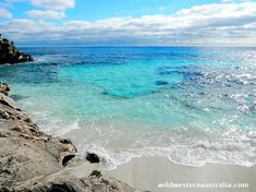 Cool blues of The Basin at Rottnest Island in winter. The Basin is one of the most popular swimming beaches in Western Australia. Click on the image for more photos and info about The Basin and Rottnest Island.