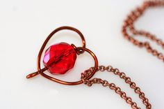 DJA Jewels: Test This Tutorial: Wire-Wrapped Heart Necklace