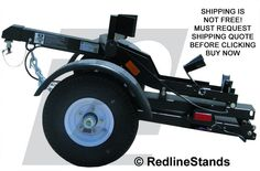 New Stinger Folding Collapsible Single Motorcycle Cruiser Sport Bike Trailer #Stinger