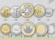 Monedas colombianas