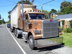 Marmon Trucks were handmade, low production vehicles made between 1963 and 1997. They were considered the Rolls-Royce of trucks and eagerly sought after. Marmon Truck was the remnant of the Marmon Motor Car Company which folded in the 1930s. Marmon Trucks can still be seen on the highway from time to time.