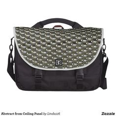 Abstract from Ceiling Panel Commuter Bag