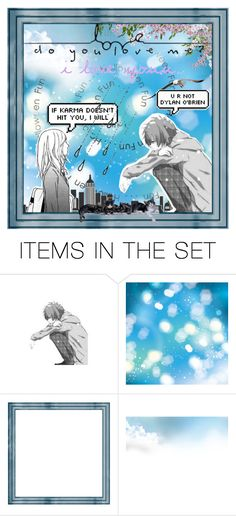 """""""I'm not deserve u 😶"""" by dalsaw ❤ liked on Polyvore featuring art"""