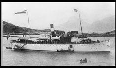 DS Vesteraalen var det  første hurtigruteskipet.