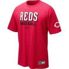 Cincinnati Reds Short Sleeve Practice T-Shirt $27.95