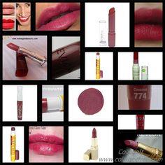 Dark Winter Drugstore lipsticks