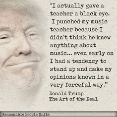 "What a narcissistic psychopath - ""from an early age""  Couldn't play an instrument? Don't understand music? Trouble reading sheet music?"