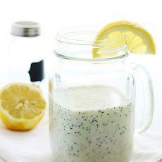 Lemon Poppyseed Salad Dressing-----Use cane sugar