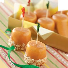 Caramel Marshmallow Treats.....I have always loved these.made them on New Years Eve at my grandmas as a kid ! Justsydne 2013