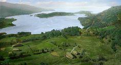 Årstad - Bronze Age view of Bergen area, Norway