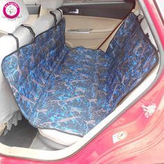 WeMoreTM New Print Pet Car Seat Cover Durable Oxford Large Dog Bed Cat Carrier