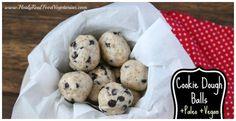Paleo Chocolate Chip Cookie Dough Balls