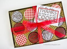 Craftibilities: SMART COOKIE Thank you GIFT idea - Teacher appreciation - FREE downloadable tag!!