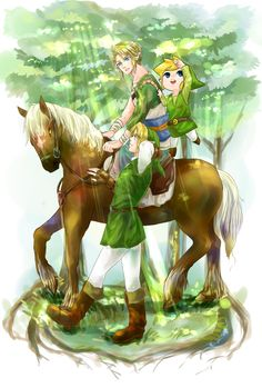 The Legend of Zelda: Twilight Princess, Ocarina of Time, and Wind Waker