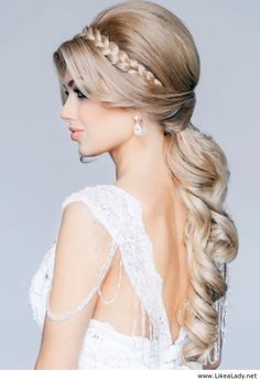 Great wedding hair style