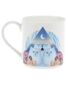 Jaguarshoes Collective - 'Magic Cat' Pint Mug