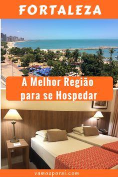 Procurando hotéis bem localizados com ótimo custo-benefício em Fortaleza? Acabou de encontrar!