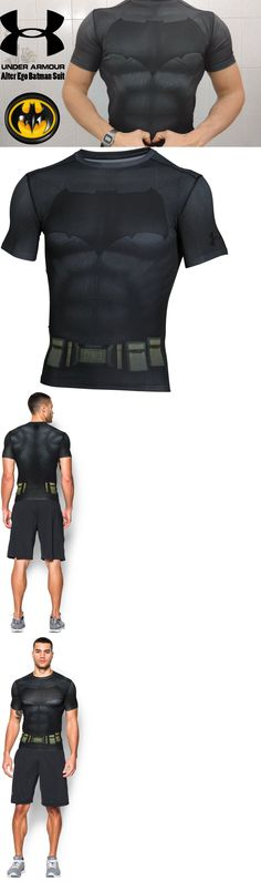 Shirts 59368: Under Armour Batman Compression Short Sleeve Tee Herren T-Shirt 1273690-040 -> BUY IT NOW ONLY: $56.99 on eBay!