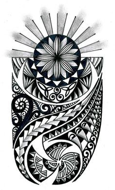 48+Coolest+Polynesian+Tattoo+Designs