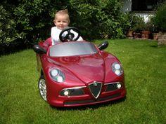 This is how I feel whenever I'm in an Alfa. Alfa Romeo Logo, Alfa Romeo Cars, Custom Classic Cars, Alfa Romeo Spider, Pedal Cars, Sexy Cars, Classic Beauty, Baby Pictures, Fiat