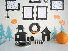 Design Sprinkle:  Halloween Decorating Ideas #NightmareBeforeChristmas #Halloween #Decorations #HauntedHouse